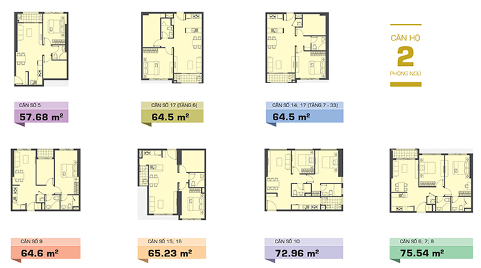 dự án căn hộ The Tresor