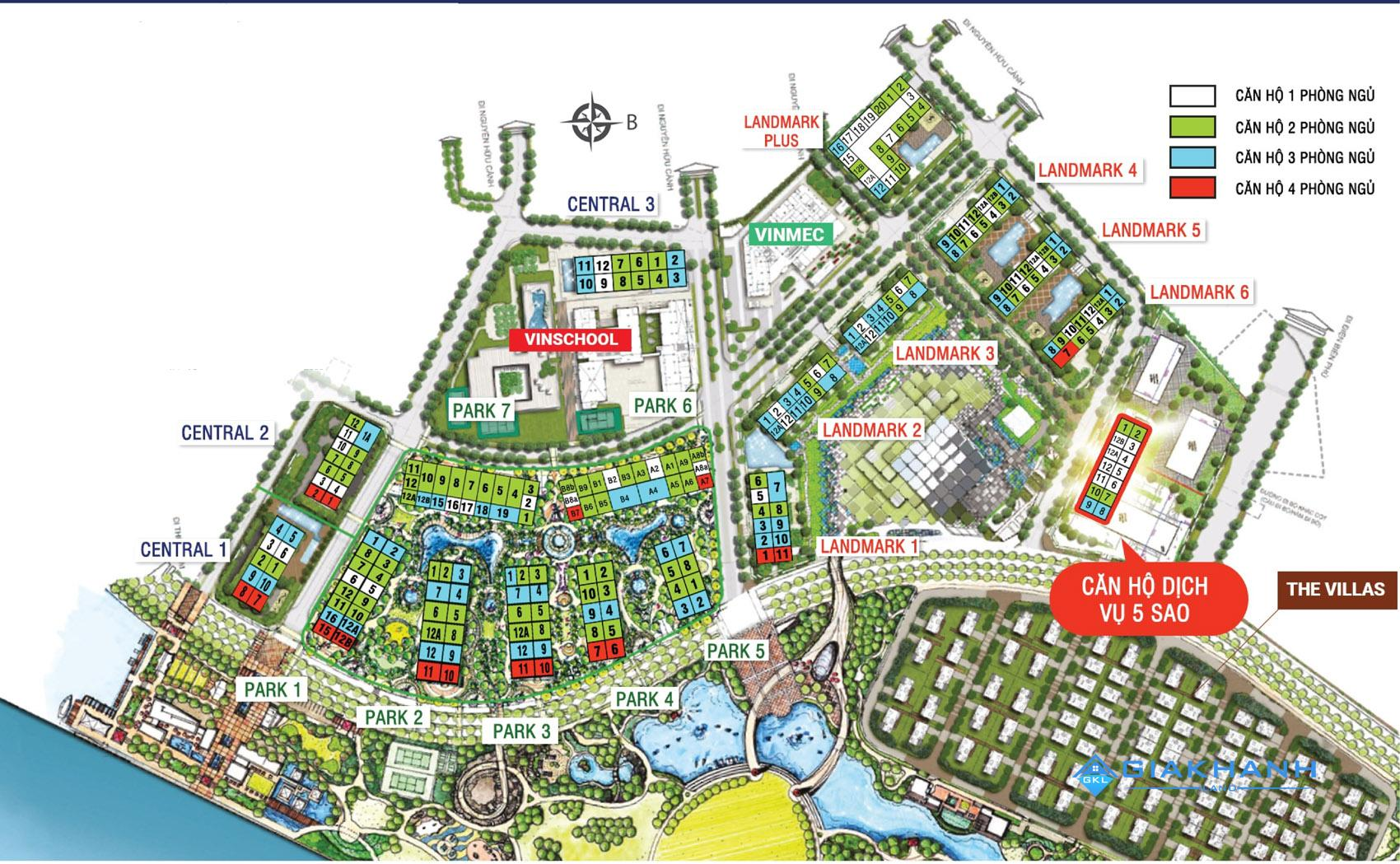 Cho thuê căn hộ chung cư Landmark 81 Vinhomes Central Park