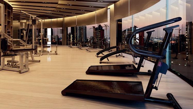 Phòng tập Gym hiện đại tại căn hộ Millennium quận 4