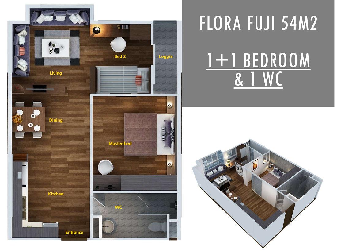 Căn hộ Flora Fuji quận 9