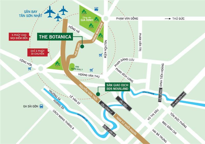 dự án căn hộ The Botanica