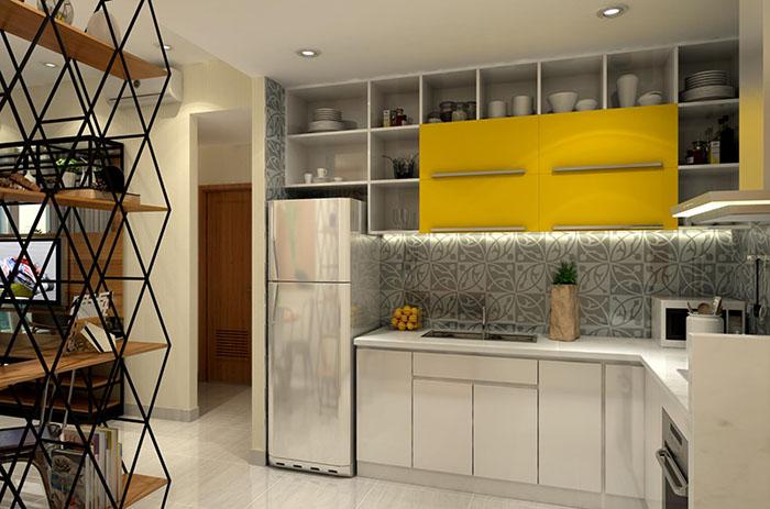 Dự án căn hộ The Sun Avenue có điểm cộng là phân chia các khu chức năng rõ ràng, kiến trúc tân thời chữ V độc đáo khiến cho các căn hộ không bị hạn chế tầm nhìn bởi các toà nhà khác trong tương lai.