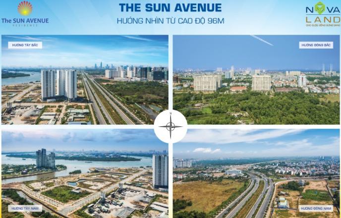dự án căn hộ The Sun Avenue
