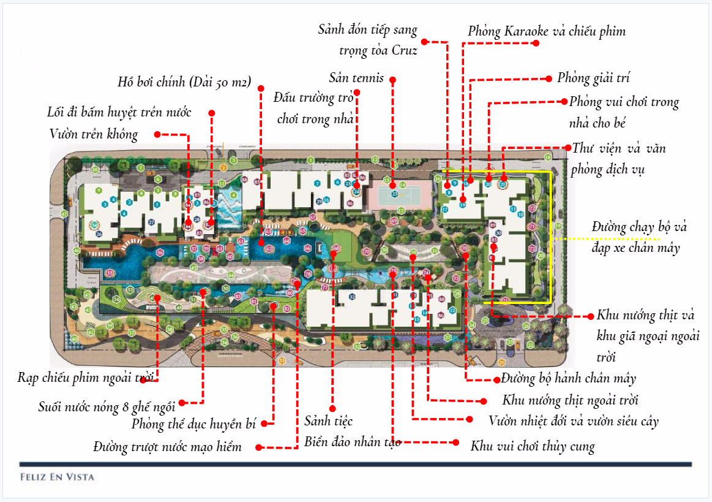 Cho thuê căn hộ chung cư Feliz En Vista