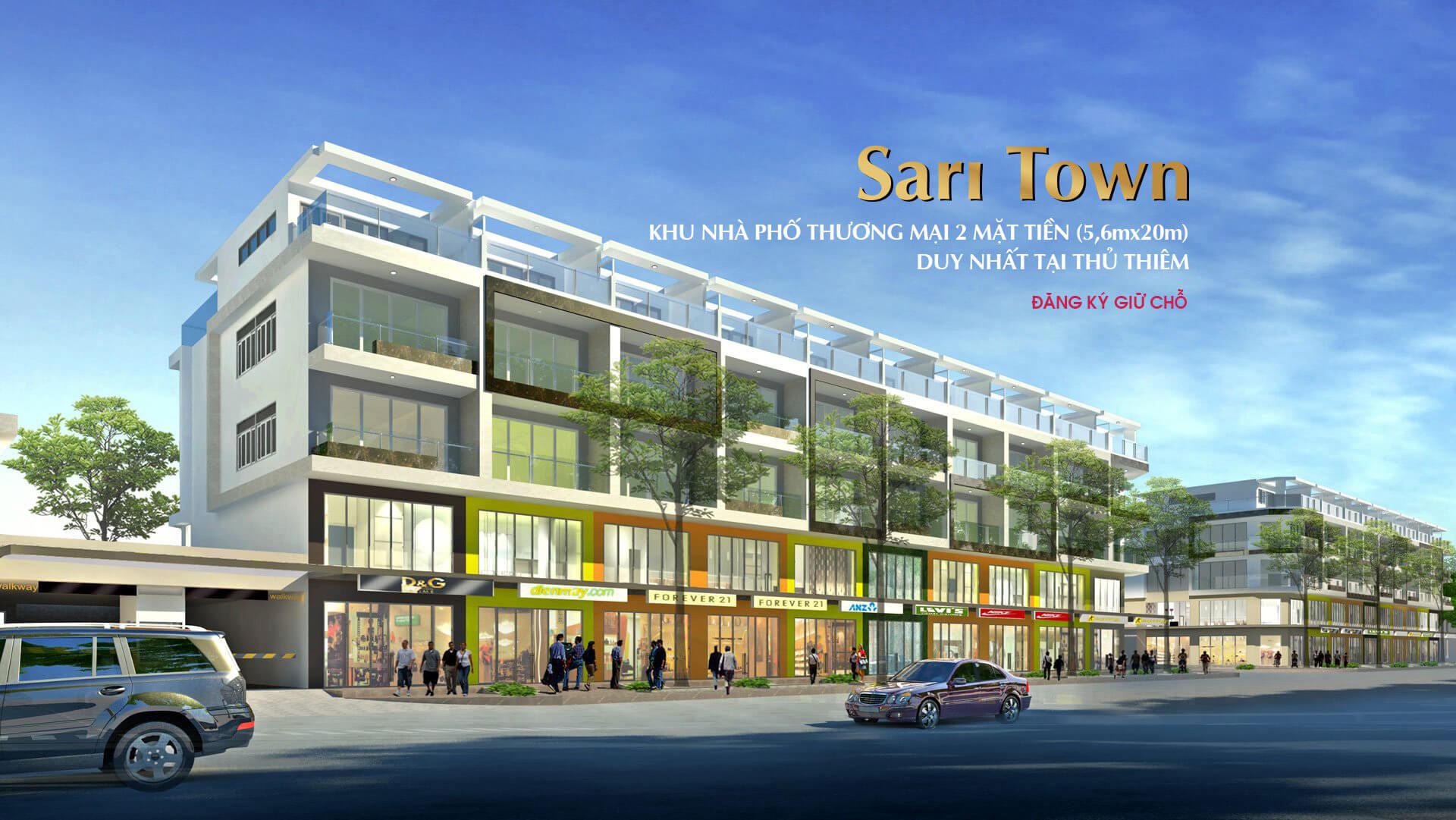 nha pho sari town