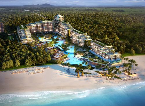 Sailing Club Villas Phú Quốc khu đất nền thoải mái tối đa sống sang trọng