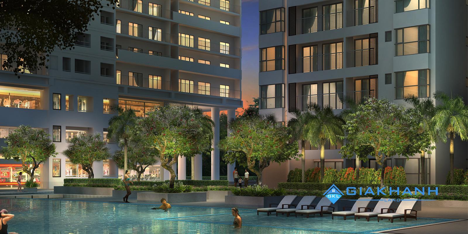 Hưng Phát Silver Star khu căn hộ căn hộ nghỉ dưỡng khu công viên