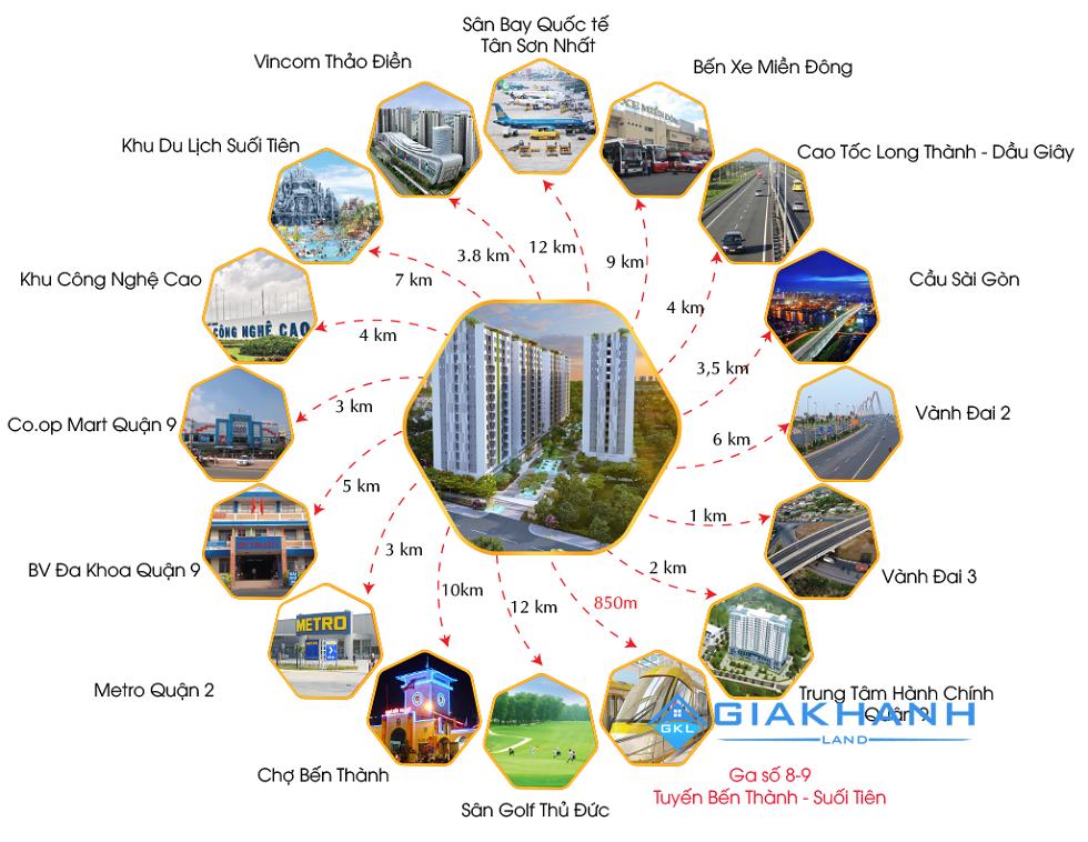Cho thuê căn hộ chung cư Him Lam Phú An