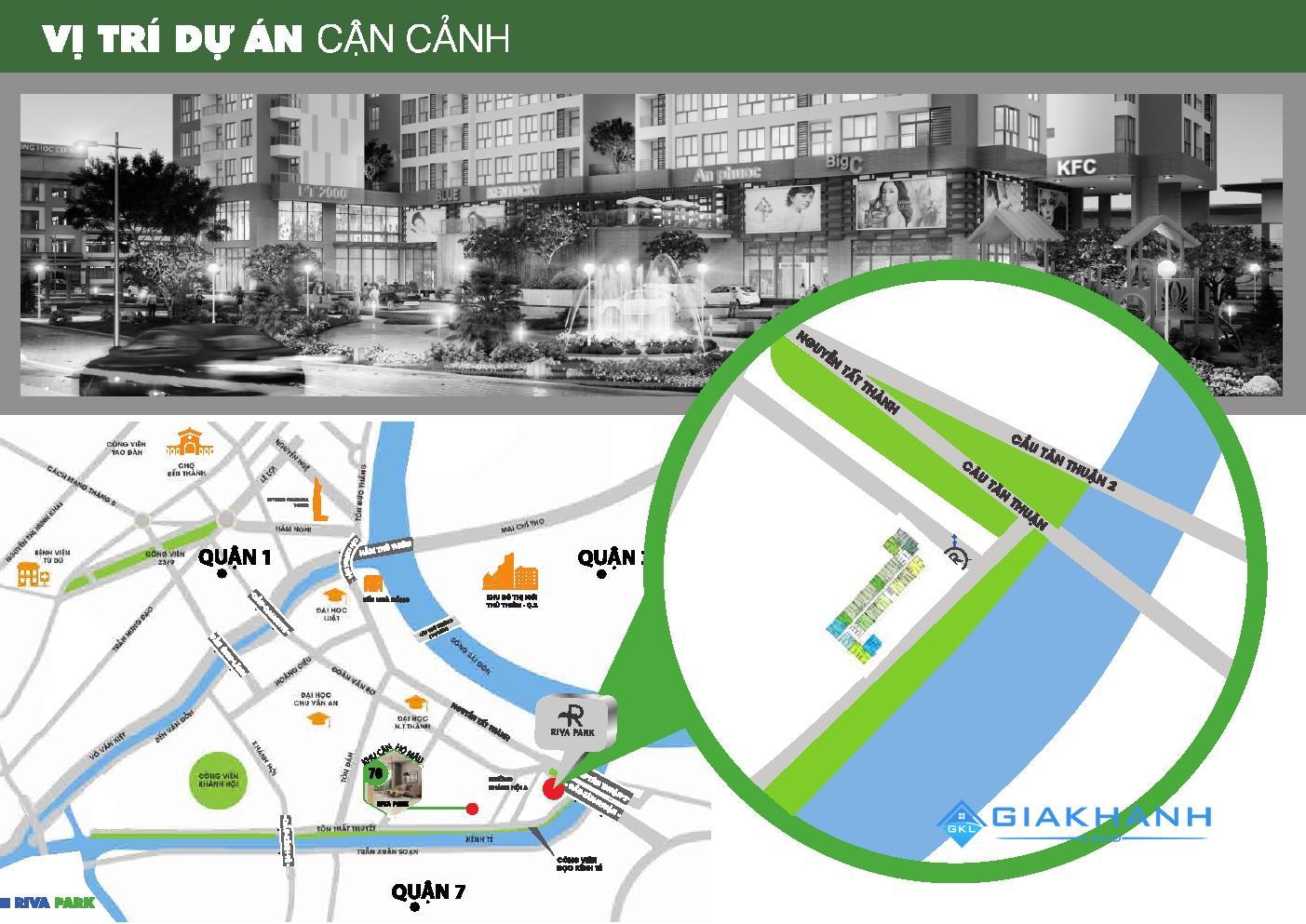 Điểm khác biệt về tiện ích của dự án căn hộ Riva Park Vietcomreal