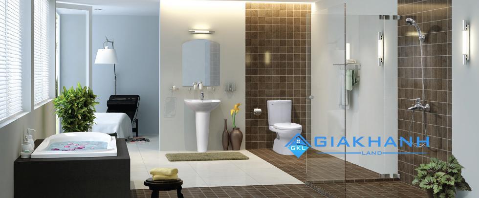 Phong thủy phòng tắm và nhà vệ sinh