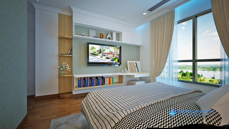 Tư vấn thiết kế căn hộ 2 phòng ngủ The Central Vinhomes Central Park.