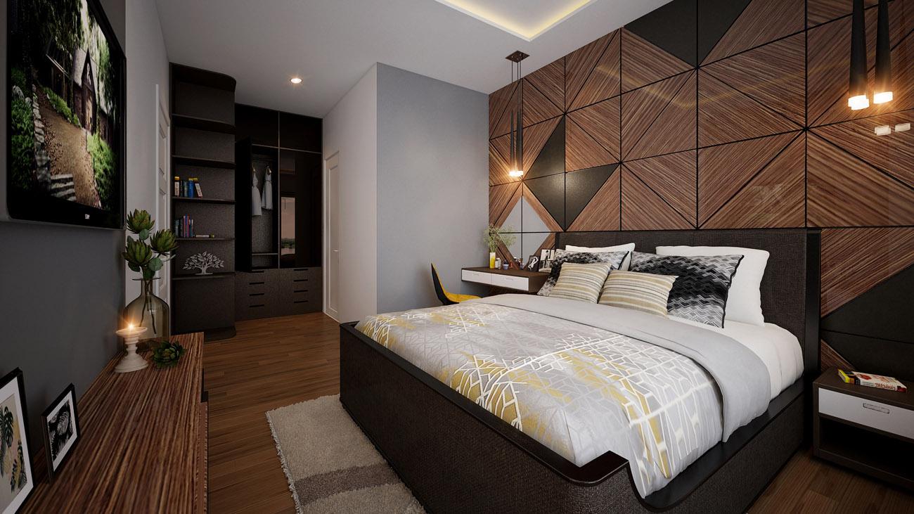 Tư vấn thiết kế nội thất 3 phòng ngủ Vista Verde