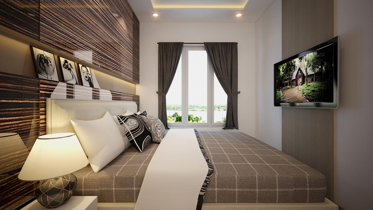 Tư vấn thiết kế nội thất căn hộ 2 phòng ngủ Vista Verde