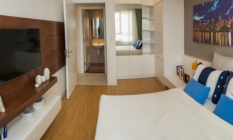 Tư vấn thiết kế căn hộ 1 phòng ngủ dự án Masteri Thảo Điền