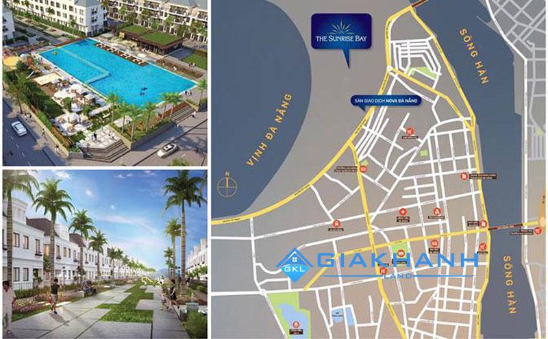 Dự án khu đô thị The Sunrise Bay Đà Nẵng của CĐT Novaland
