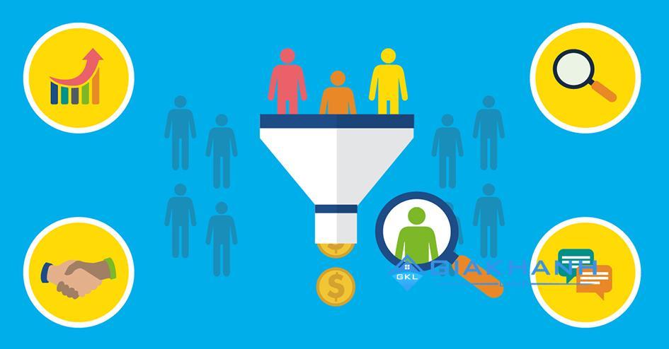 Quy trình chạy phễu đối với Sales
