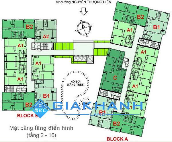 Cho thuê căn hộ chung cư Botanic Towers