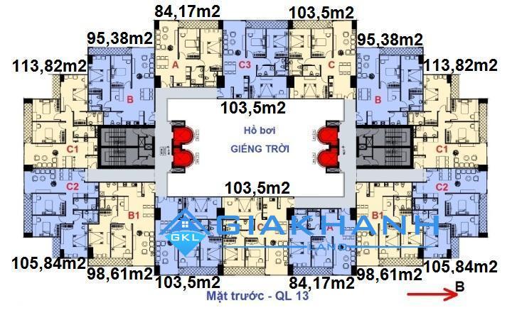 Cho thuê căn hộ chung cư Morning Star Plaza