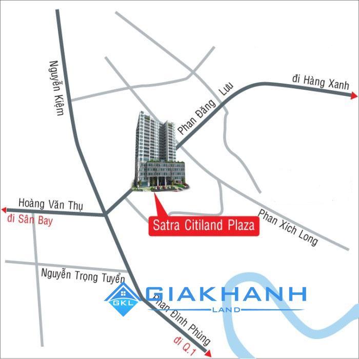 Cho thuê căn hộ chung cư Satra Eximland