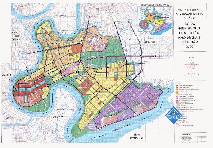 Công bố đồ án điều chỉnh quy hoạch chung quận 2 đến 2020