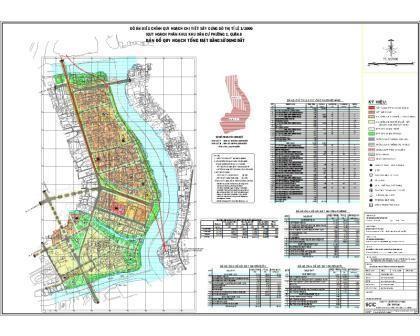 Quy hoạch chi tiết khu dân cư phường 1 Quận 8