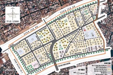 Quy hoạch chi tiết Khu dân cư Phường 12 Quận 8