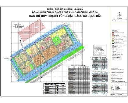 Quy hoạch chi tiết Khu dân cư Phường 14 Quận 8