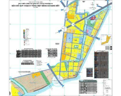 Quy hoạch chi tiết Khu dân cư Phường 16 Quận 8