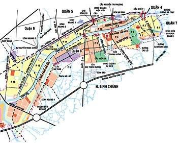 Quy hoạch chi tiết khu dân cư phường 2 quận 8