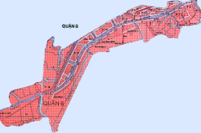 Quy hoạch chi tiết Khu dân cư Phường 4 Quận 8