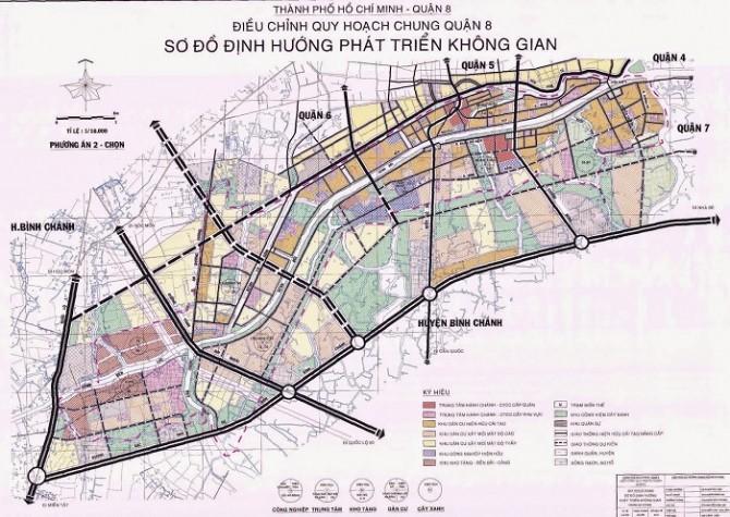 Quy hoạch chi tiết Khu dân cư Phường 8 Quận 8