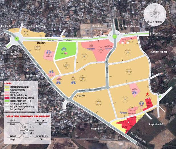 Quy hoạch chi tiết khu dân cư phường Cát Lái Quận 2