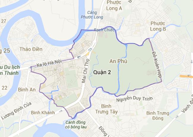TP.HCM. Điều chỉnh quy hoạch 1/500 Khu đô thị phát triển An Phú