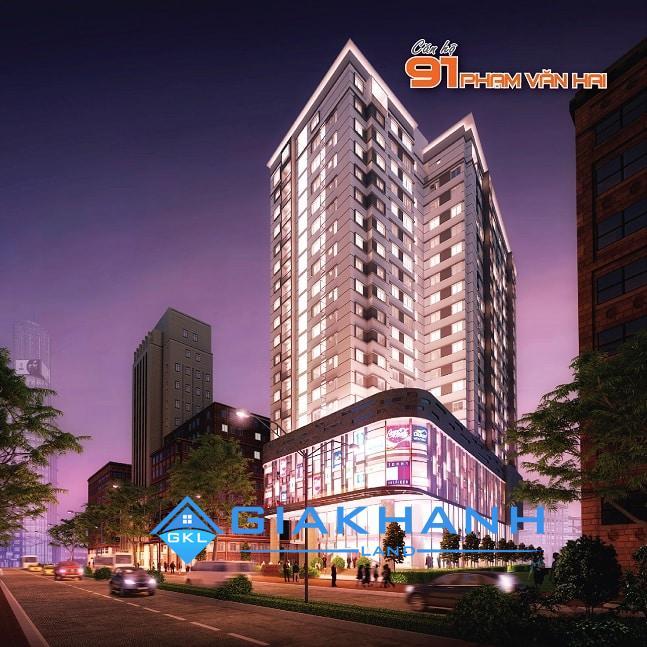Cho thuê căn hộ chung cư Central Plaza 91 Phạm Văn Hai