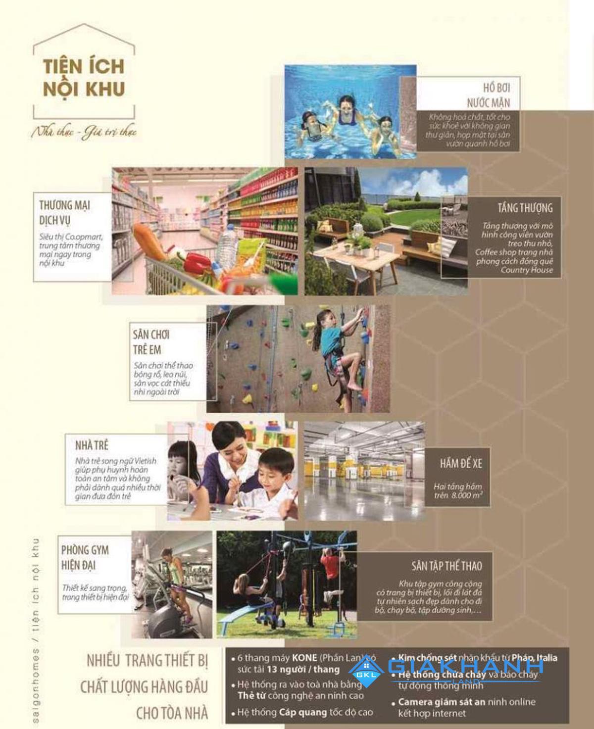 Cho thuê căn hộ chung cư Saigon Homes
