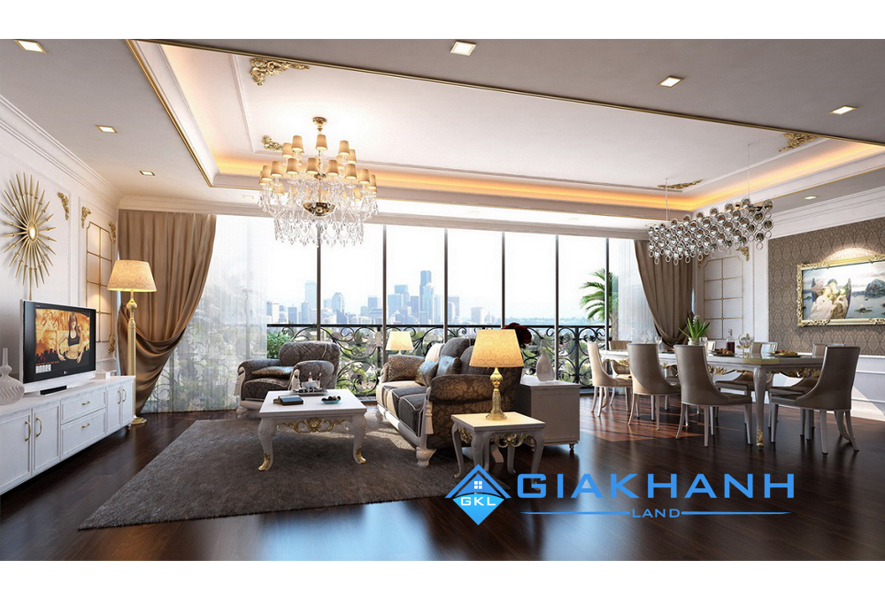 Cho thuê căn hộ Léman Luxury Apartments
