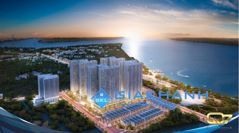 Cho thuê căn hộ chung cư Q7 Saigon Riverside Complex