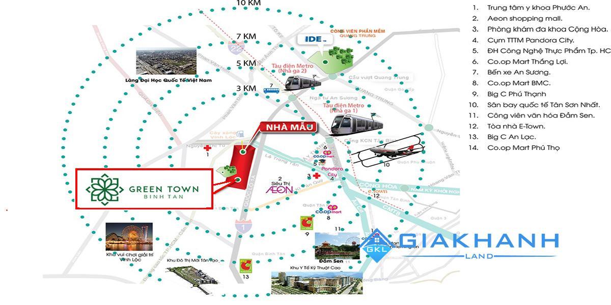 can ho Green Town Binh Tan
