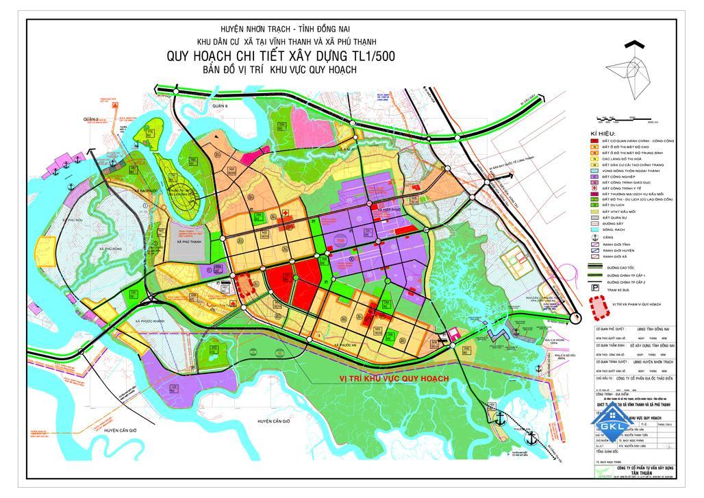 Bản đồ quy hoạch sử dụng đất Đồng Nai đến năm 2020