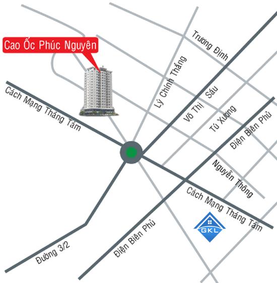 Cho thuê căn hộ chung cư Nguyễn Phúc Nguyên
