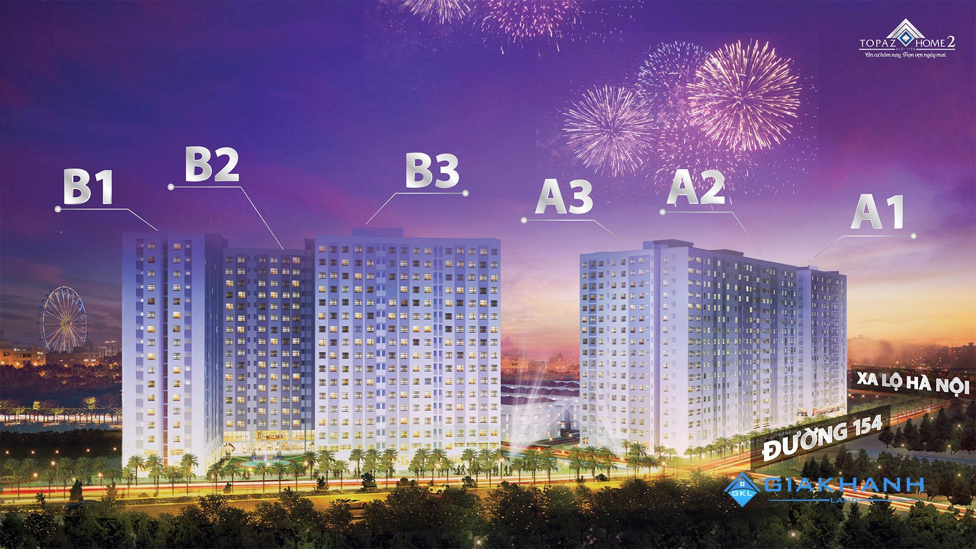 Cho thuê căn hộ chung cư Topaz Home 2