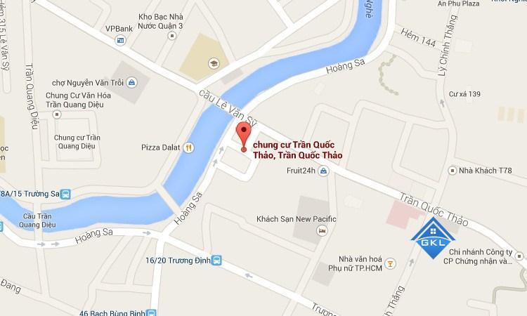 Cho thuê căn hộ chung cư Trần Quốc Thảo
