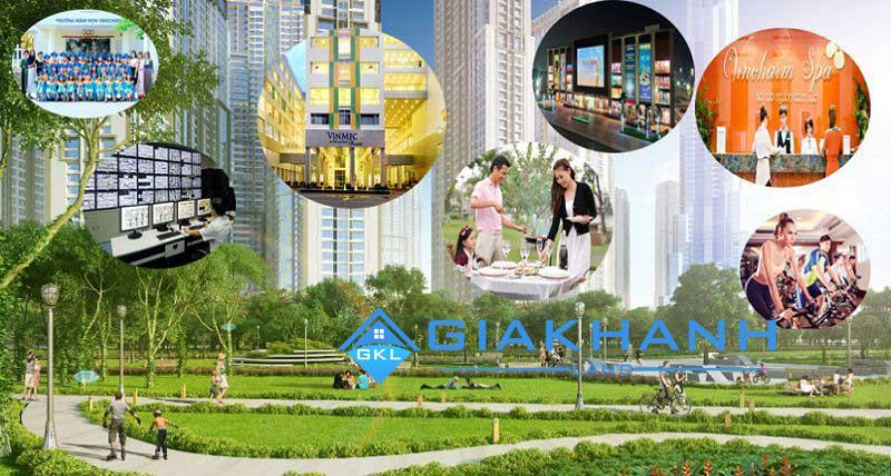 Cho thuê căn hộ chung cư Vincity New Saigon