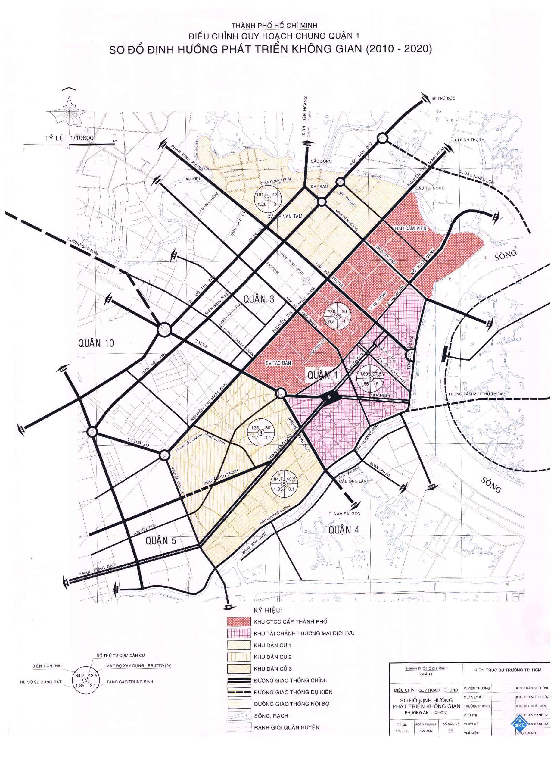 Bảng giá đất quận 1 TP HCM 2018