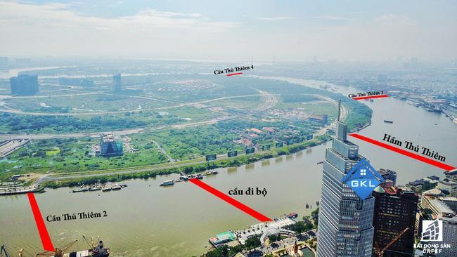 Vinhomes Golden River hưởng lợi gì từ việc xây cầu Thủ Thiêm 2