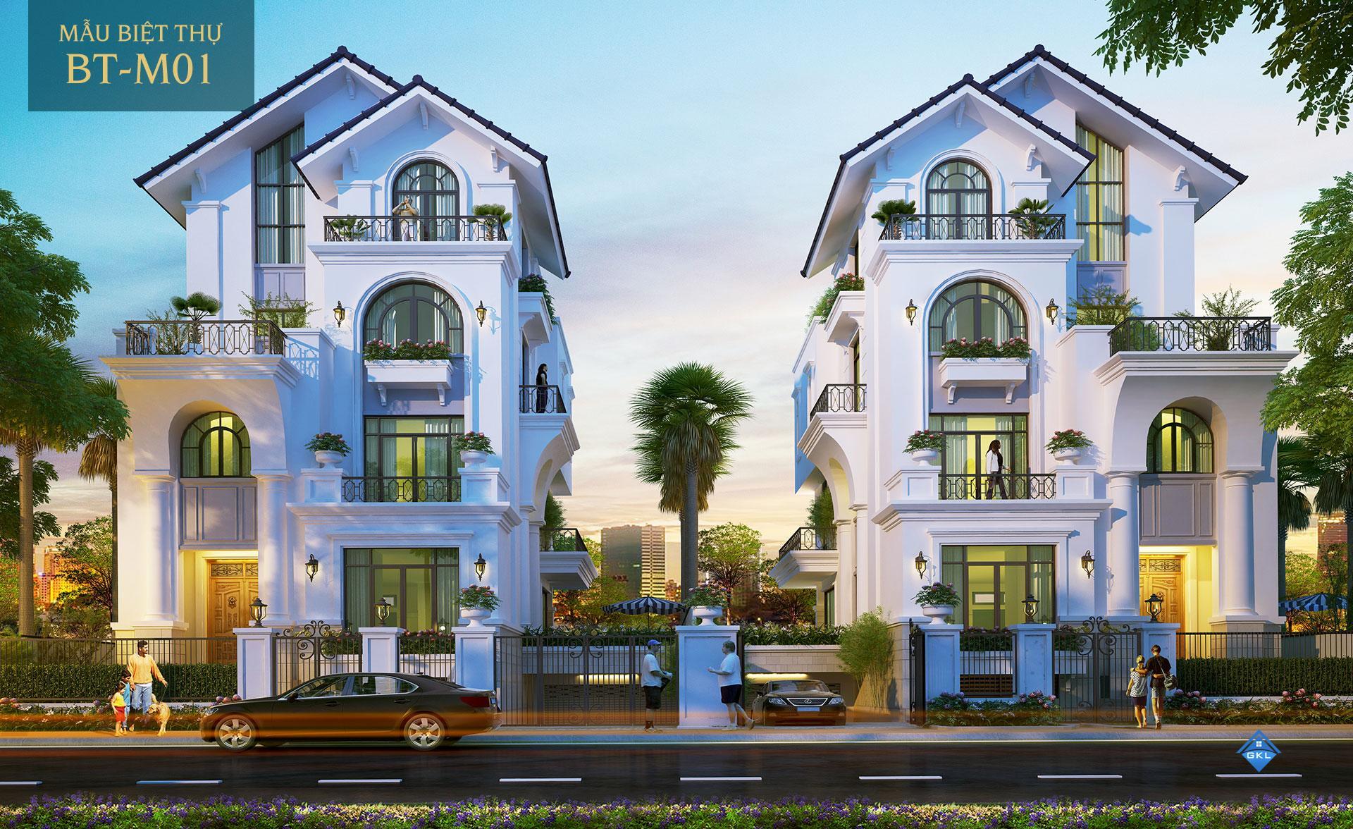 Cho thuê biệt thự Saigon Mystery Villas