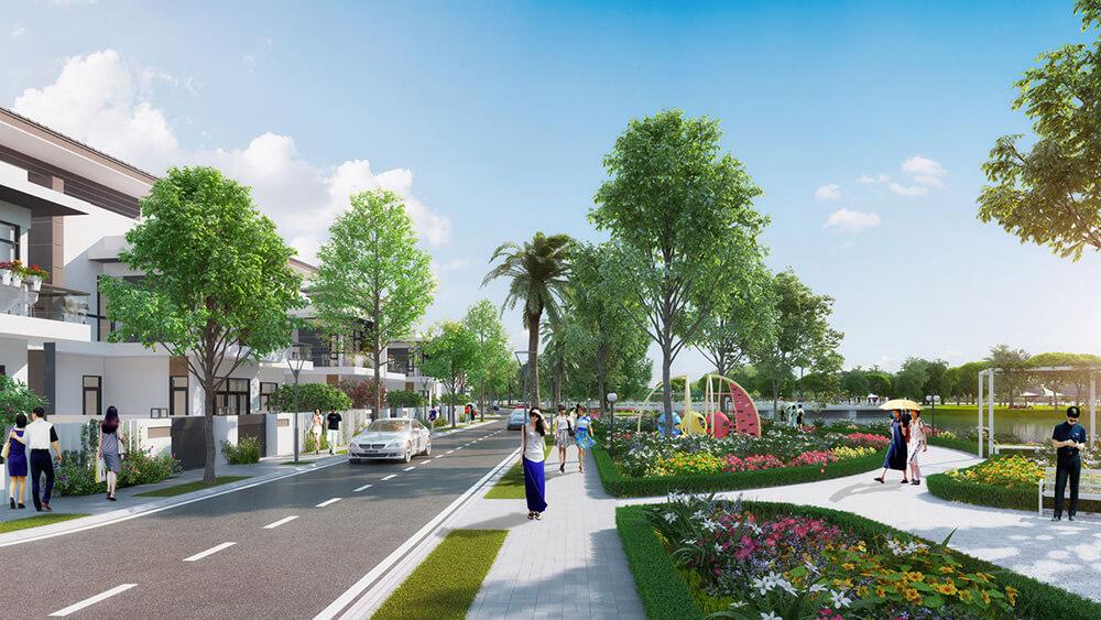 dự án đất nền Long Hậu Riverside