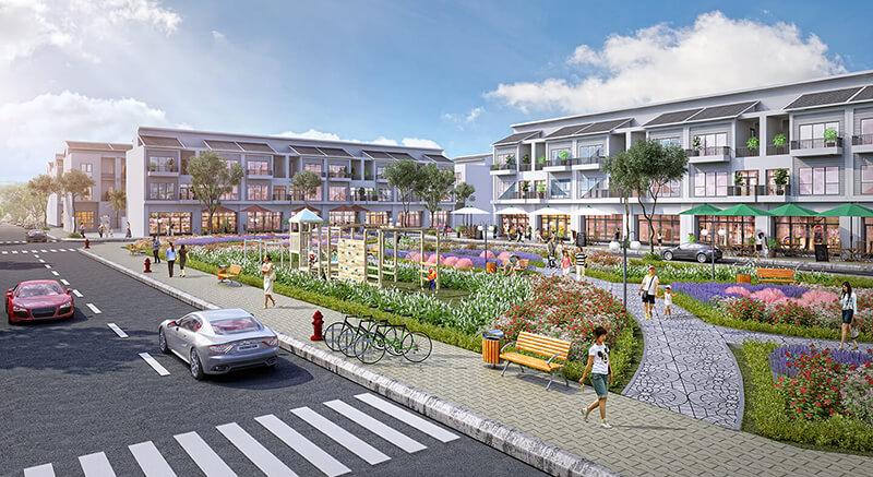 Thiết kế xanh của dự án Long Hậu Riverside