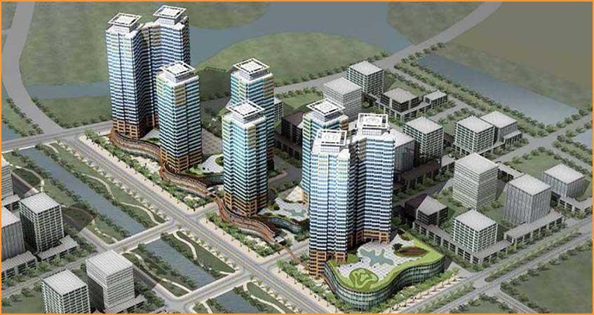 Dự án căn hộ cao cấp The Penta Bình Thạnh nhôm kính cao cấp gần bên sông
